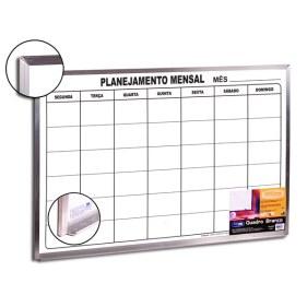 6080 - quadro planejamento mensal alum 60x90