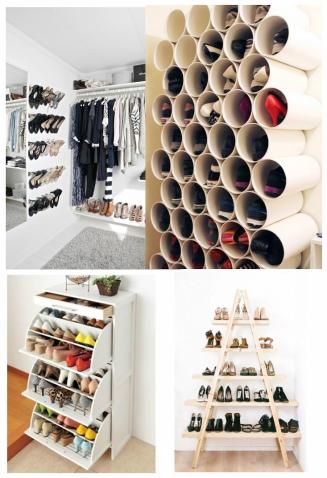 como-organizar-guarda-roupa-sapatos